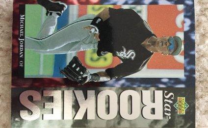 1994 UD Michael Jordan Star