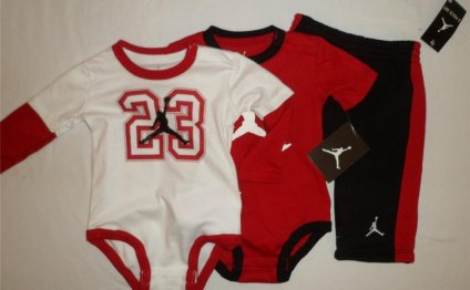 Air Jordan Baby Boys Bodysuit