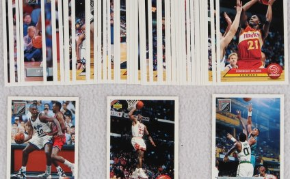 Complete Set of (50) 1992-93