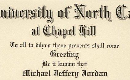 Michael Jordan University