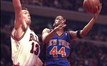 Luc Longley was the starting