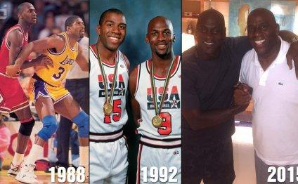 Teammate Michael Jordan