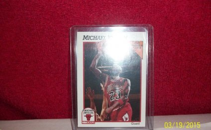 Michael Jordan 1991 NBA Hoops