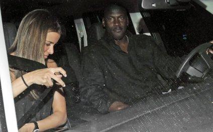 Michael Jordan and Yvette