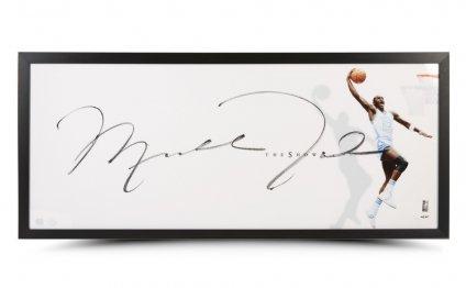 Michael jordan autographed