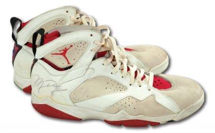 Michael Jordan shoe auction