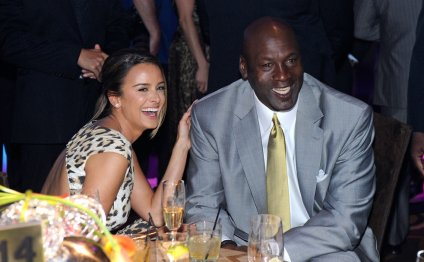 Michael Jordan and wife Yvette