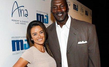 Air Jordan and his new wife of
