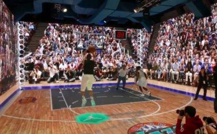 Re-enact Michael Jordan