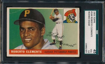 PSA 8 Clemente rookie