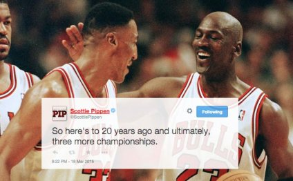 Scottie Pippen dishes on