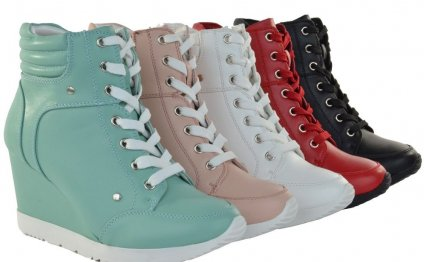 Women Fashion Shoes High Top