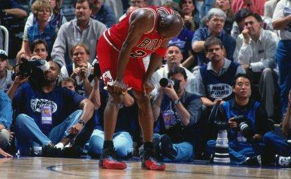 Michael Jordan scored 38