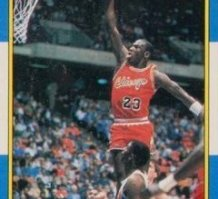 86-87 Jordan Fleer Rookie Card