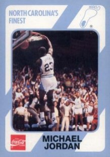 89 Michael Jordan College Card