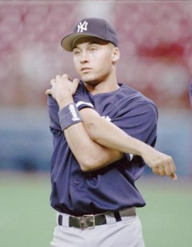 a very important Derek Jeter 1993 Upper Deck card was also taken.