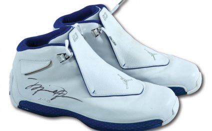Michael Jordan college shoes