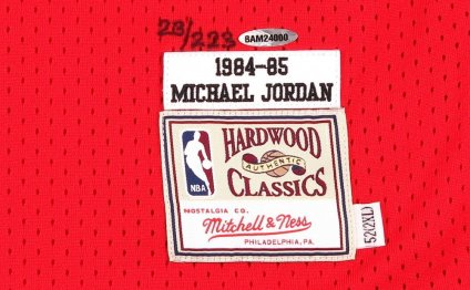 Michael Jordan rookie of the year card