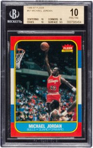 Michael Jordan 1986 Rookie Card