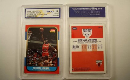 1986 Michael Jordan rookie card