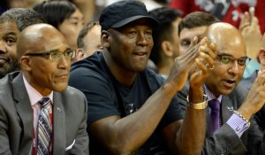 Michael Jordan: not always crying. (USATSI)
