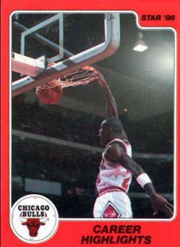 jordan Rookie Card - 1986 celebrity Company