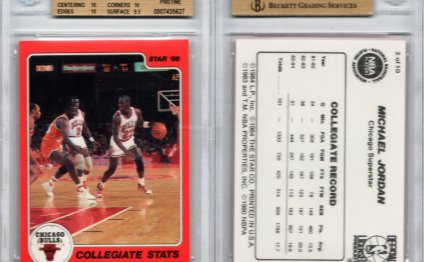 Michael Jordan rookie card Price