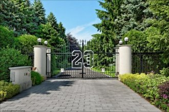 Michael Jordan's Highland Park, Ill., is up for auction. The 56,000 sq ft home boasts nine bedrooms and 15 restrooms.