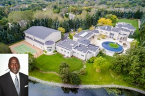 Michael Jordan's residence near Chicago