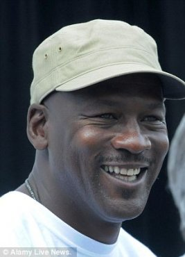 Money man: Michael Jordan recently increased his ownership stake in Charlotte Hornets and that assisted drive his net worth over billion