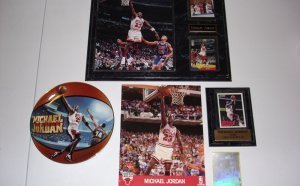 Michael Jordan 1990 nba Hoops card