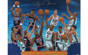 Michael Jordan 1992 Dream Team