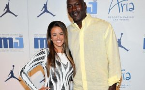Michael Jordan and his Kids