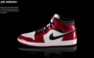 Michael Jordan first shoe released