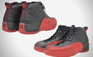 Michael Jordan Flu game shoes