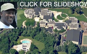 Michael Jordan house Pictures