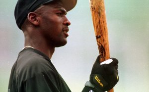 Michael Jordan in baseball