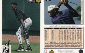 Michael Jordan minor league baseball card