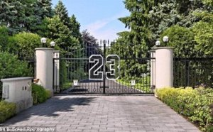 Michael Jordan old house