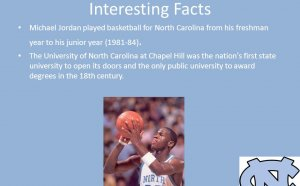 Michael Jordan played basketball