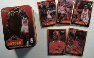 Michael Jordan rookie card value