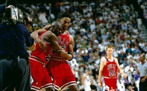 Michael Jordan the Flu game