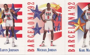 Michael Jordan USA basketball cards