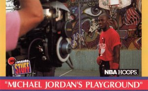 NBA Hoops Michael Jordan 1990
