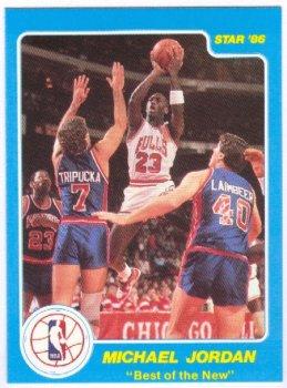 Michael Jordan Upper Deck Rookie Card Michael Jeffrey Jordan