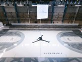 Michael Jordan basketball court