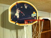 Michael Jordan basketball hoop