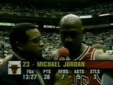 Michael Jordan Flu game stats