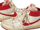 Michael Jordan rookie shoes