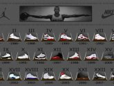 Michael Jordan shoes 1 through 23